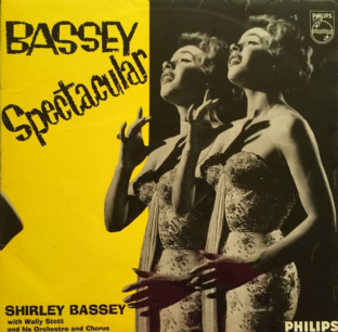 Shirley Bassey With Wally Stott & His Orchestra - Bassey Spectacular (LP) (VG/G)